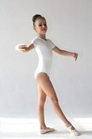 Купальник гимнастический с коротким рукавом ХБ Г 8.03 FENIX ST
