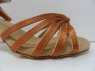 Туфли для бальных танцев, каблук 5 см (коричневый)