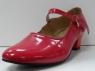 Туфли для народных танцев - Фламенко (красный)