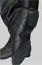 Народные сапоги для танцев мужские (черные)
