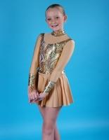"""Платье спортивное для бальных танцев Р 2.6 """"Созвездие"""""""