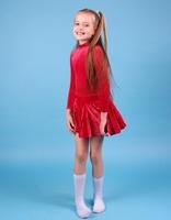 Платье спортивное для бальных танцев Р 2.81 Альера