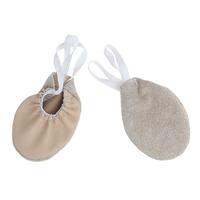 Полупальцы (получешки) для гимнастики, кожа (телесный)