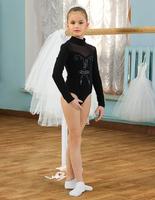 Купальник гимнастический боди для девочек SGB 201005
