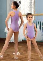 Купальник гимнастический (борцовка) для девочек SGK 201007