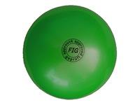 Мяч для художественной гимнастики FIG зеленый, 18 см, 400 г