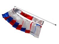 Лента с палочкой для художественной гимнастики (3 цвета)